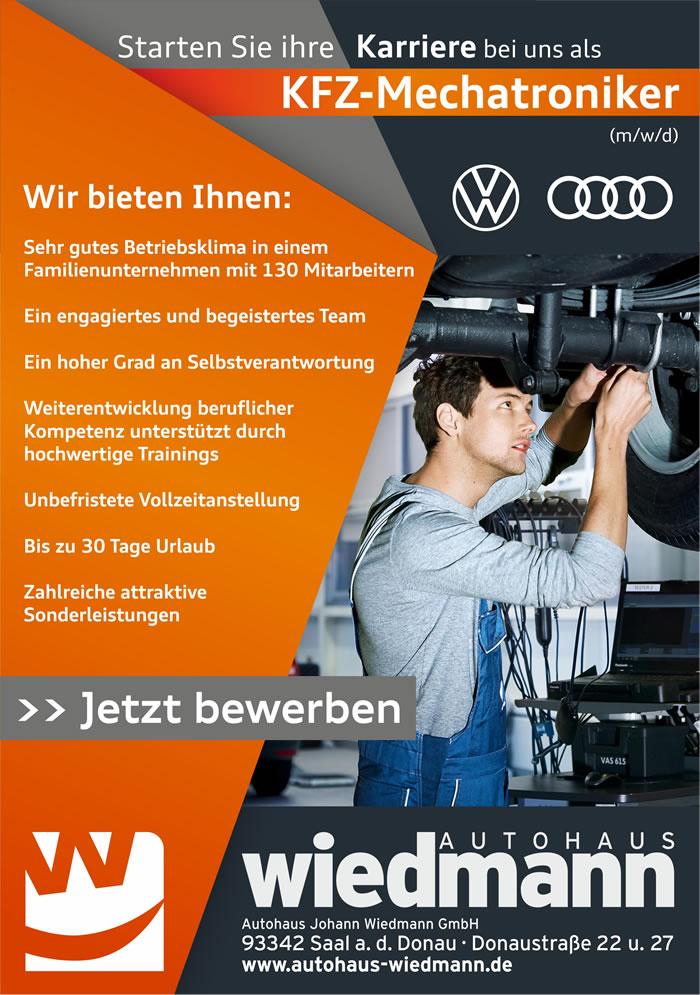 topf sucht passenden deckel werden sie teil des wiedmann teams - Audi Bewerben